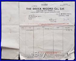 1963 THE BEATLES rare original concert poster (The Royal Hall, Harrogate) WOW