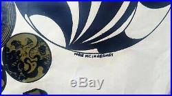 1967 PINK FLOYD 14 Hour Technicolor Dream original concert poster Beatles era