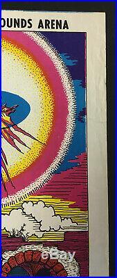 1969 Led Zeppelin Jethro Tull Santa Barbara Fairgrounds Concert Poster Salzer