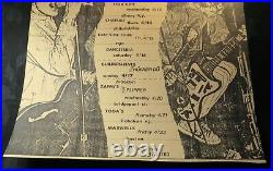 1983 The Replacements, Husker Du Concert Tour Poster MPLS Detroit NY Punk RARE