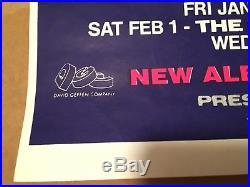 1992 Original Silkscreen Nirvana Australia Concert Tour Poster