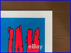 1996 Pearl Jam TAZ SILK SCREEN CONCERT POSTER 364 / 400 LIMITED