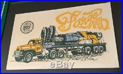 2003 Pearl Jam Poster Fargo, ND Concert Ames
