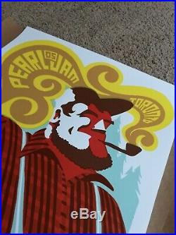 2005 Pearl Jam Toronto, ON, Canada Concert Poster Ames Bros