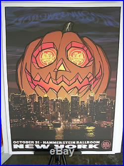 2007 Ryan Adams Hammerstein Ballroom NYC Tour Halloween Concert Poster