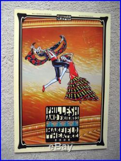 2008 Grateful Dead Phil Lesh & Friends Warfield Bill Graham 5 Concert Poster Set