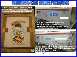 2010 Dave Matthews Band Clarkston Vintage Oil Can Concert Poster 6/23 MI Bonus