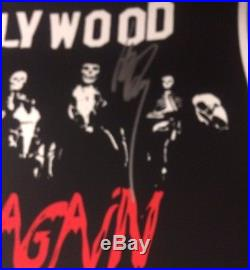 2017 Misfits Los Angeles Forum Autographed J Only Danzig Concert Poster La 12/30