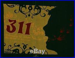 311 Anaheim Concert Poster 2006 Silkscreen Original Rare
