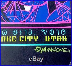 311 Concert Gig Poster 2016 Salt Lake City Utah Egyptian Uncut Munk One Limited