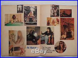 ALICE COOPER Original 1973 Billion Dollar Babies CONCERT PROGRAM POSTER