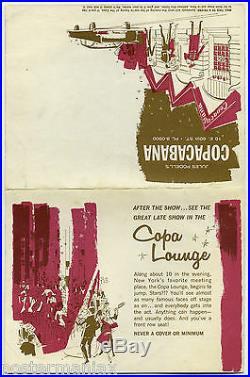 AL GREEN 1972 COPACABANA Concert Handbill