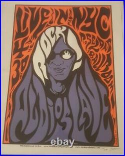 AUDIOSLAVE 2005 S/N Silkscreen Concert Poster NYC Roseland Jermaine Rogers