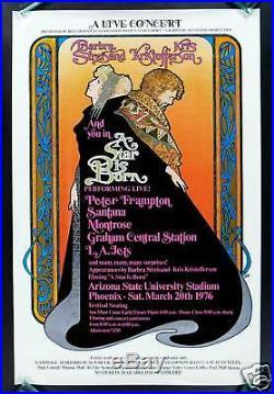 A Star Is Born Movie Concert Poster Barbra Streisand