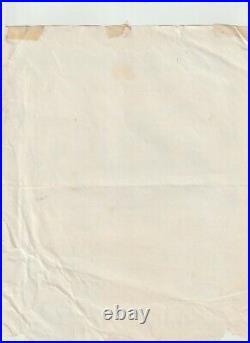 Alic Cooper Mc5 Fred Sonic Smith Rare Original Very Rare Concert Flyer Handbill
