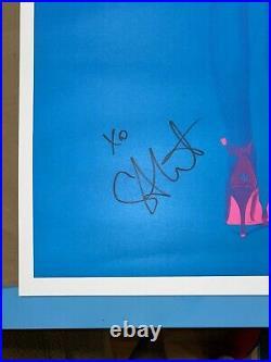 Annie Clark St. Vincent Masseduction Signed Autographed Tour Gig Concert Poster