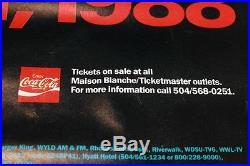 April 22 1988 New Orleans Jazz & Heritage concert 29 x 22 Original Poster