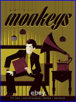 Arctic Monkeys Concert Poster Guy Tom Whalen AP Limited Edition of 12