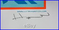 Audioslave Poster with Jonny Polonsky 2005 Concert