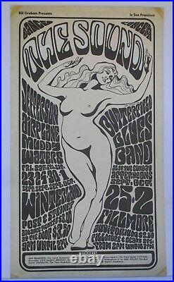 BG29-OP1A Jefferson Airplane Muddy Waters Concert Poster Bill Graham