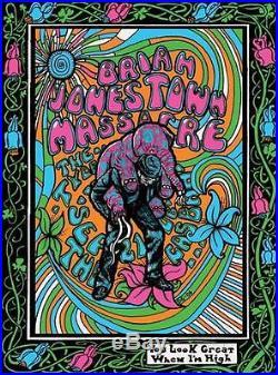 Brian Jonestown Massacre Concert Poster Grealish 2006 Silkscreen Original
