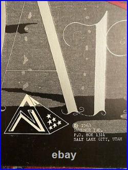 BUFFALO SPRINGFIELD YOUNGBLOODS Salt Lake City Utah 1968 VERY RARE POSTER