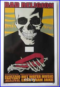 Bad Religion Concert Poster 2002 Brian Ewing