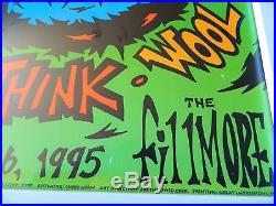 Bill Graham Fillmore Concert Poster Foo Fighters July 26, 1995 Shudder To Think