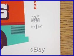 Black Keys Broomfield 2012 Concert Poster South Park Silkscreen Original