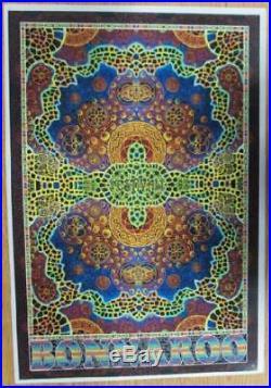 Bonnaroo 2010 Dave Matthews Stevie Wonder Jay-z Original Concert Poster