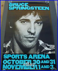 Bruce Springsteen The River Tour Original Rolled Concert Poster (1980)