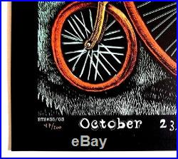 Built To Spill Screen Print Concert Art Poster S/N Emek 2003