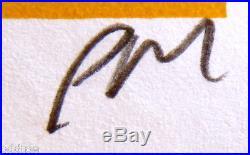 CHRIS CORNELL Poster Original Concert S/N Print Mafia, SOUNDGARDEN, Audioslave