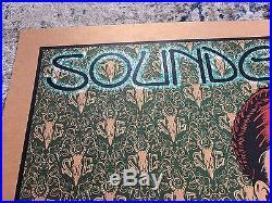 Chuck Sperry 2013 Soundgarden Concert Poster Bronze Variant Rare Art Oakland CA