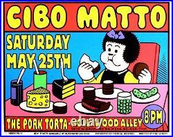 Cibo Matto Concert Poster 1996 Kozik Mesa