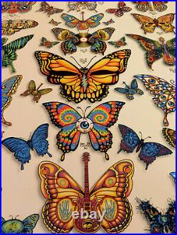 DEAD & COMPANY poster 2019 Concert VIP Tour EMEK Print Butterfly Low # 91