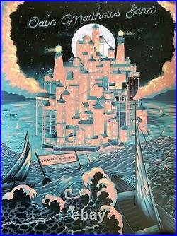 Dave Matthews Band Clarkston Poster 8/11 2021 concert tour dte energy