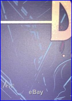 Dave Matthews Band Official Concert Poster Jacksonville FL Dan Mumford 5/1/2019