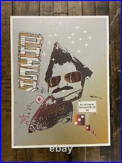David Covell Jager DiPaola Kemp 2000 Phish Las Vegas Concert Poster Pollock