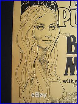 Deep Purple, Buddy Miles, 1972 Milwaukee Concert Poster Jim Mitchell artwork