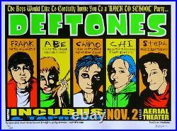Deftones Concert Poster 2000 Jermaine Rogers