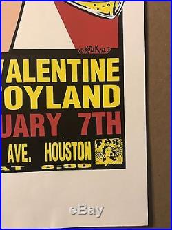 Dinosaur Jr Babes In Toyland Bloody Valentine Kozik 92 concert POSTER SilkScreen
