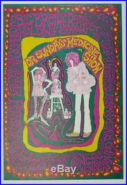 Dr. Sunday's Medicine Show Concert Poster Big Brother +