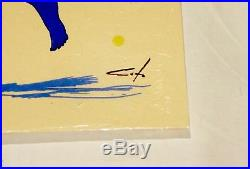 Eddie Vedder Pearl Jam Jeff Soto Signed 2011 Seattle Concert Tour Poster! Mint