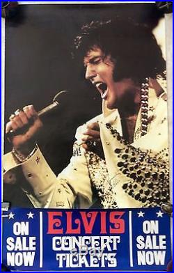 Elvis Presley- Another Stunning Concert Poster-100% Genuine And Original