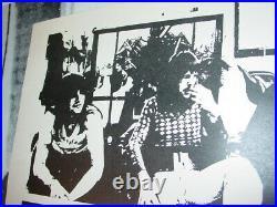 Emerson Lake & Palmer Elp 1974 74 Vintage Concert Nos Rock Poster -nice