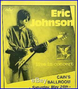 Eric Johnson Original Concert Posters Cains Ballroom 1997 Tulsa
