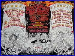 FLEETWOOD MAC STEPPENWOLF BG 270 FILLMORE concert poster 1970 BILL GRAHAM