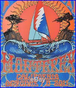 FURTHUR Monterey California Concert Poster c. 2011
