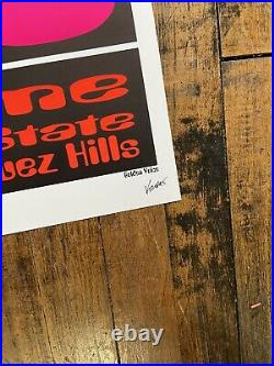 Frank Kozik 1995 Beastie Boys Concert Poster Velodrome Dominguez Hills, CA S/N